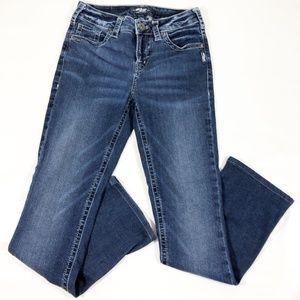 Silver AIKO Women Boot Cut Jeans
